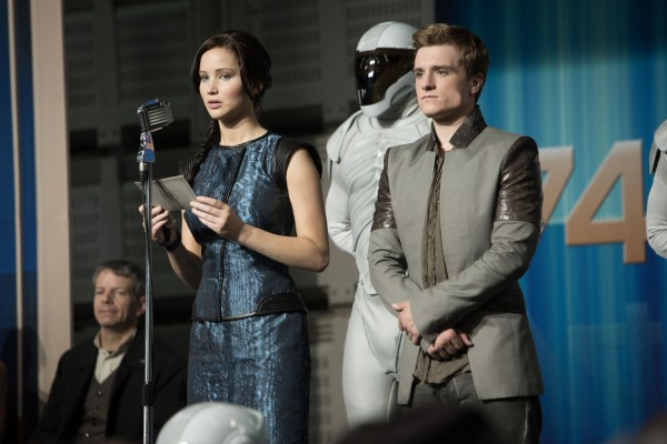 The Hunger Games: Catching Fire Katniss and Hutcherson