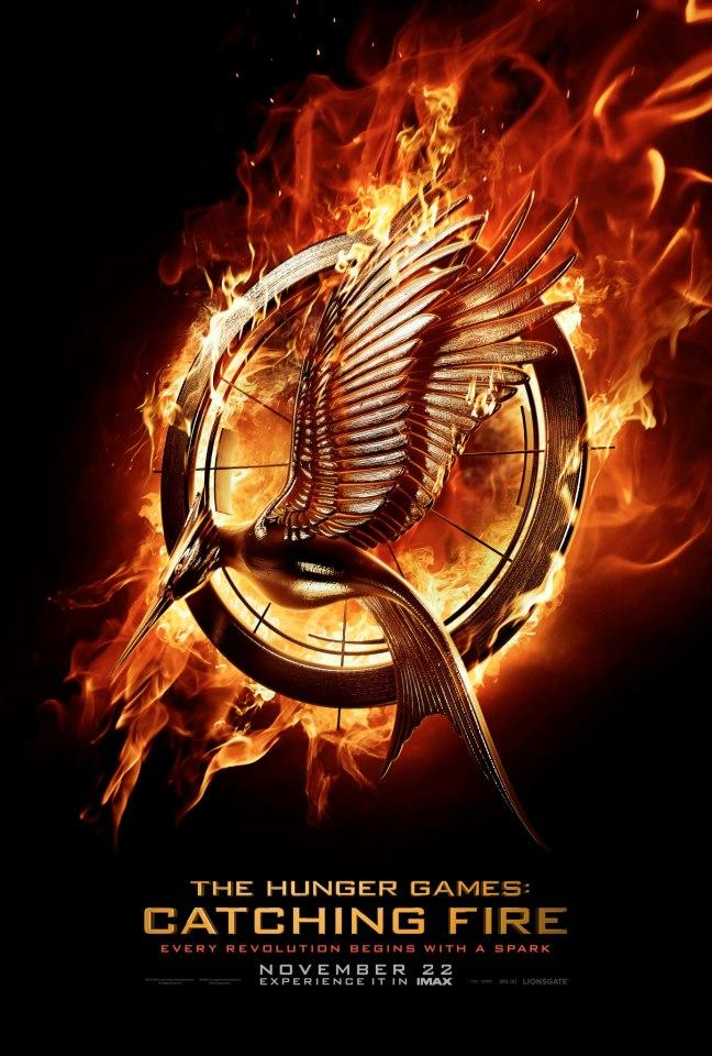 catching fire movie poster New Movie Poster for The Hunger Games: Catching Fire Arrives