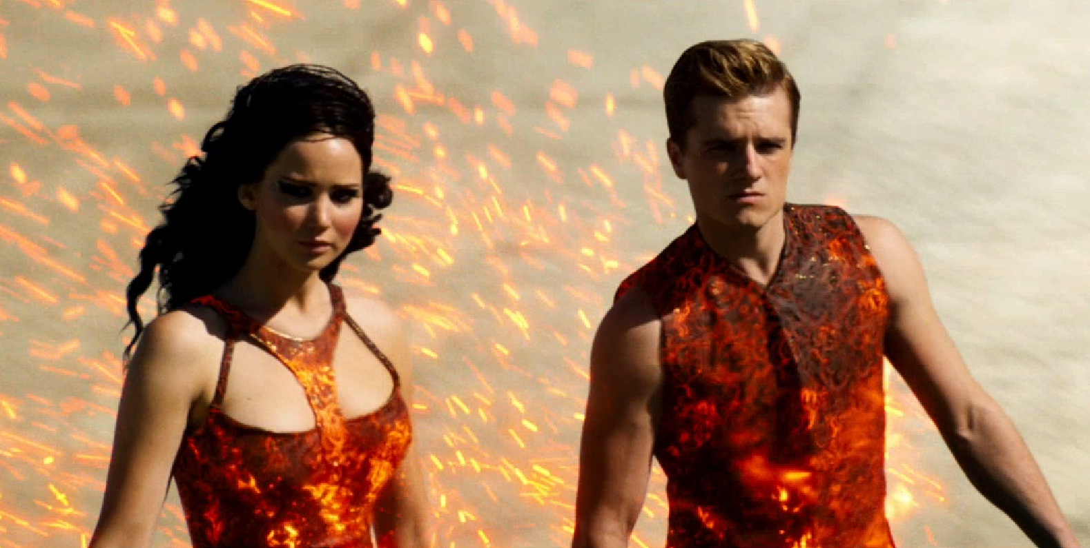 catching fire trailer