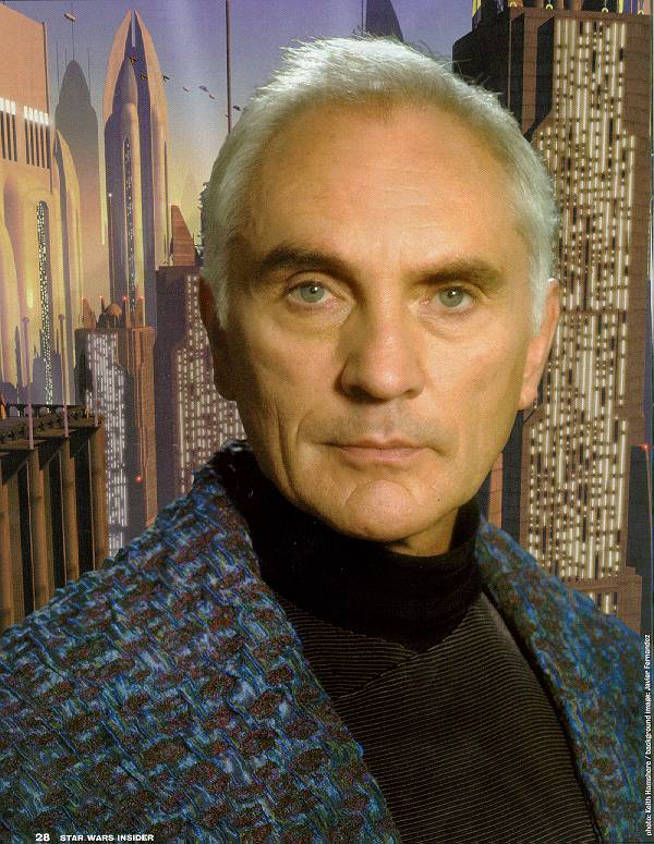 chancellor valorum Terence Stamp Comes Clean About His Star Wars: Episode I Experience