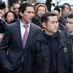 dark knight rises actors walking2 150x150 Joseph Gordon Levitt Filming A Scene from The Dark Knight Rises