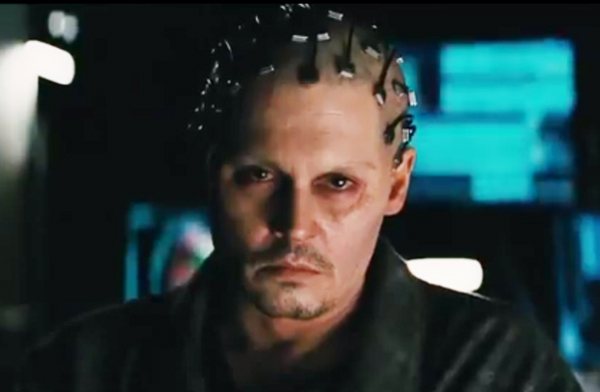 depp2 Latest trailer for Transcendence   starring Johnny Depp and Morgan Freeman   gives movie fans a glimpse of whats to come