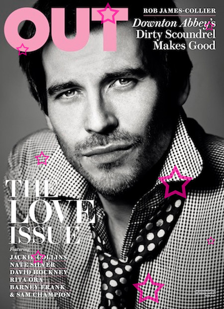 downton abbey out Downton Abbey's Rob James Collier Covers Out Magazine
