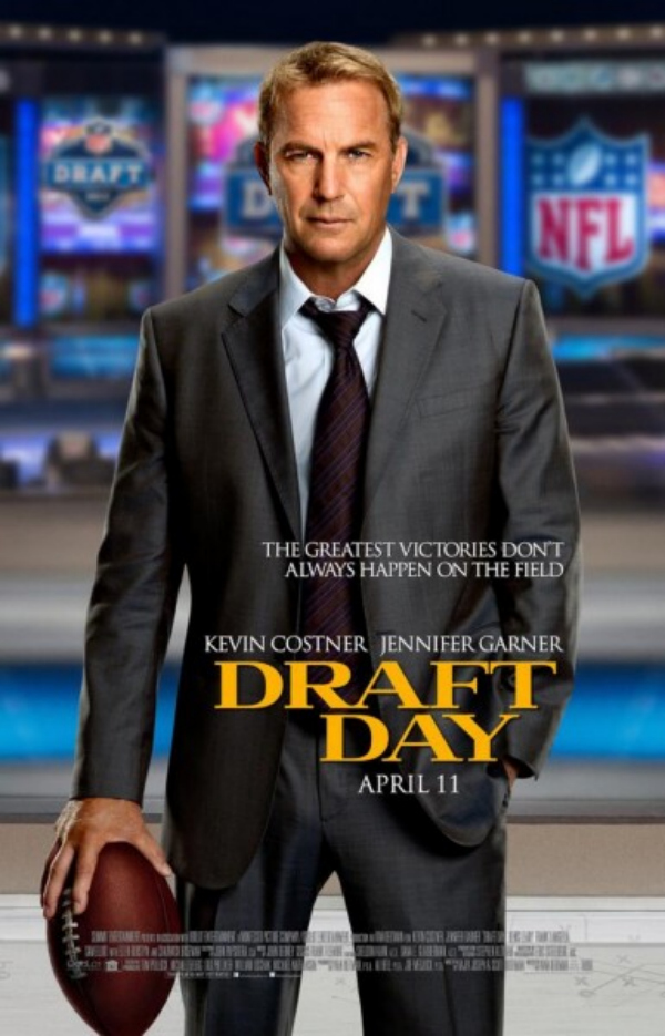 draft day kevin costner movie poster Draft Day Gets A New Trailer And A New Movie Poster