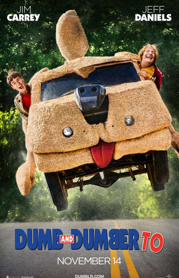 dumb and dumberer to Dumb and Dumber To Gets A New Movie Poster