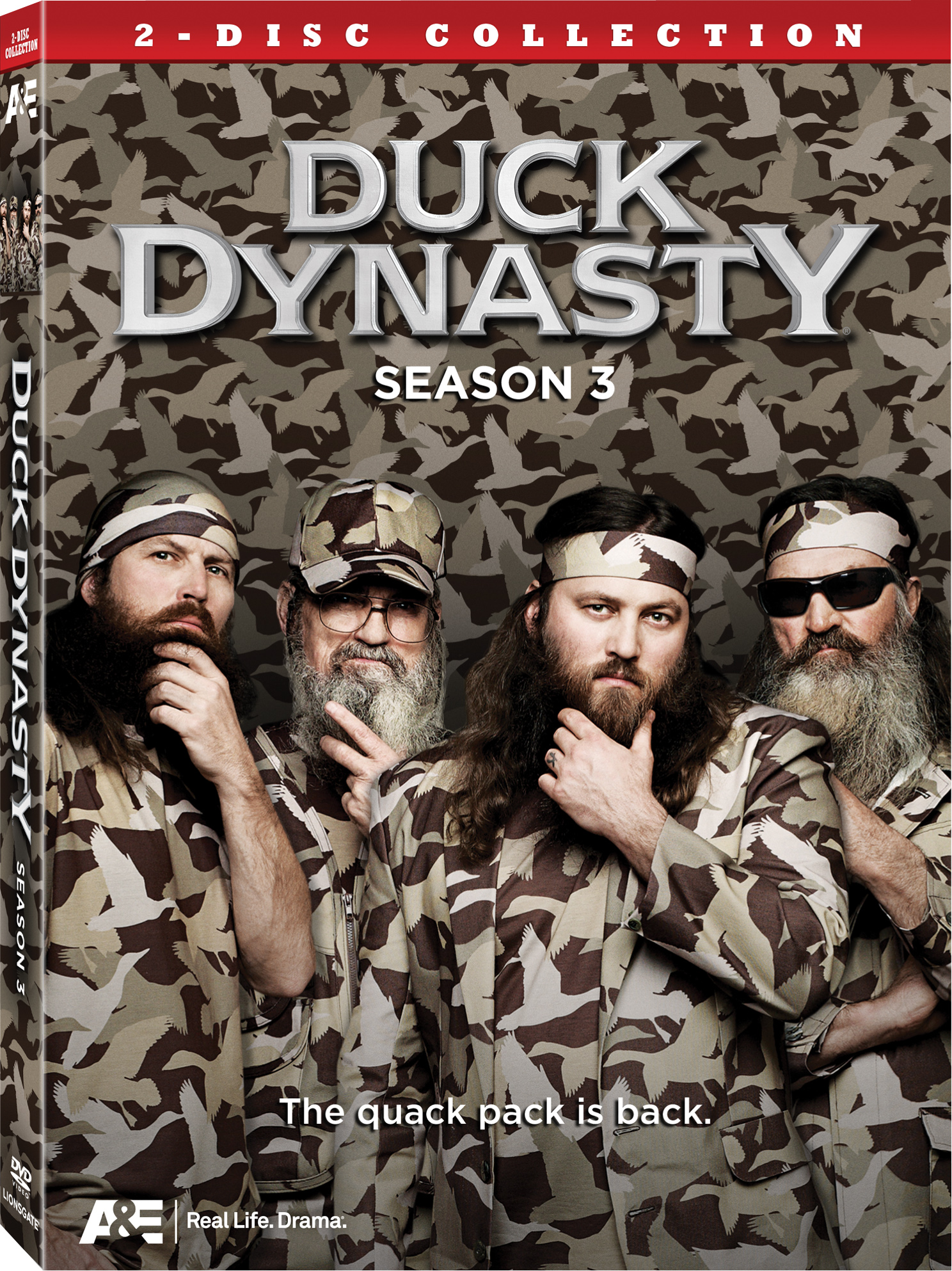 dvd 300dpi Duck Dynasty Season 3 Coming to DVD Aug. 6