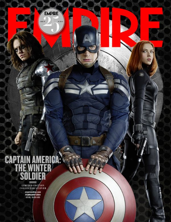 empire magazine captain america the winter soldier black widow Captain America: The Winter Soldier Gets A First Look