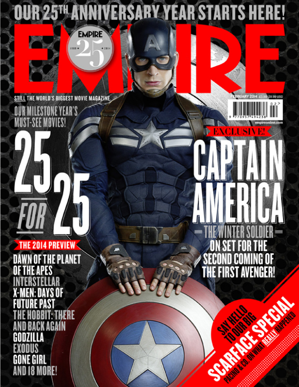 empire magazine captain america Captain America: The Winter Soldier Gets A First Look