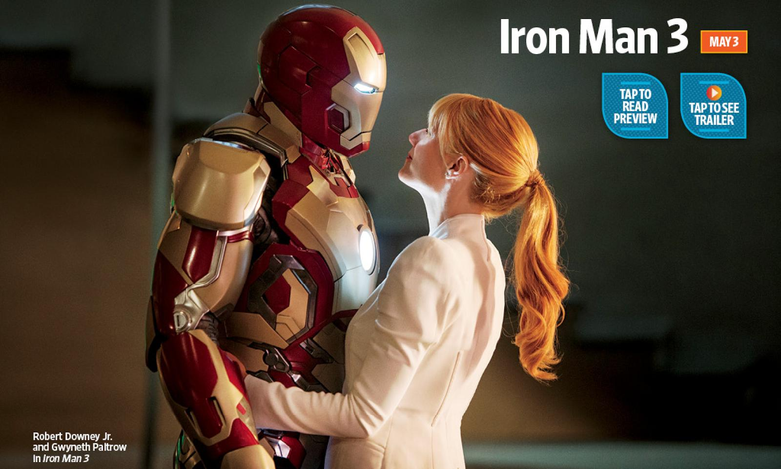 entertainment weekly iron man 3 Wicked New Still from Iron Man 3