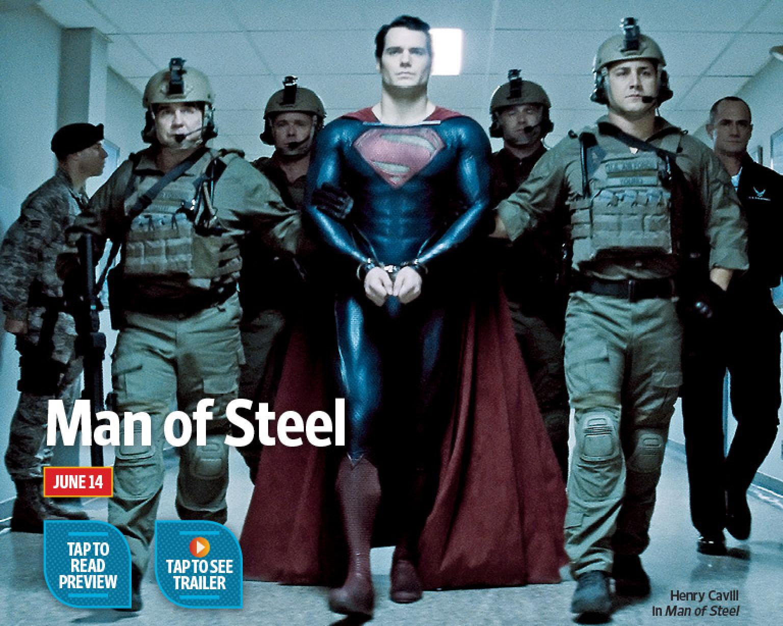 entertainment weekly man of steel Brand New Still of Superman in Superman: Man of Steel