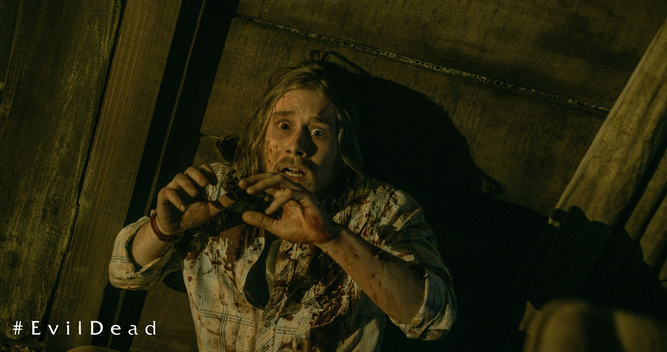 Gruesome Evil Dead Movie Still