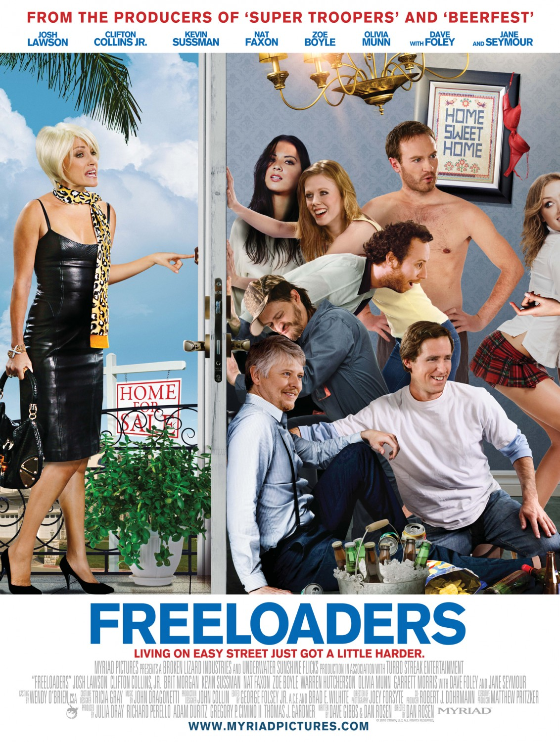 freeloaders Win Two Tickets To The Los Angeles Premiere Of Freeloaders From ShockYa