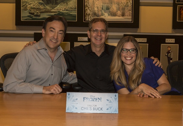 frozen early press 1 Disneys Frozen Event Part 2: The Directors And Producer Behind The Animated Film