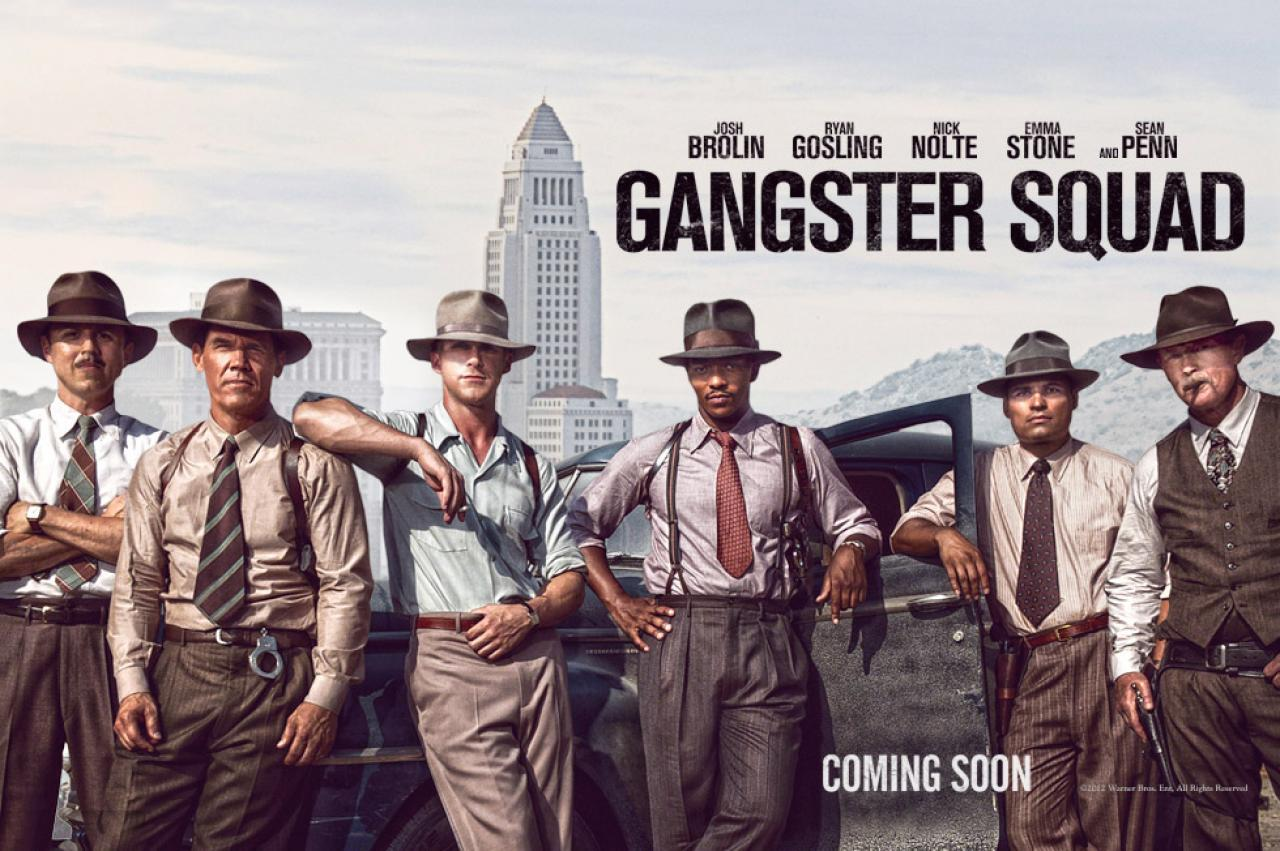gangster squad podcast ShockYa Presents The Movie Night Podcast; Gangster Squad