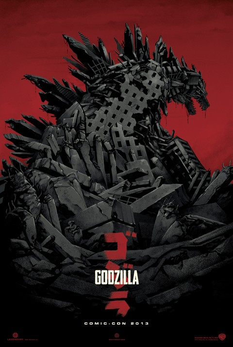 godzilla movie poster Oh Yeah, A New Godzilla Movie Poster