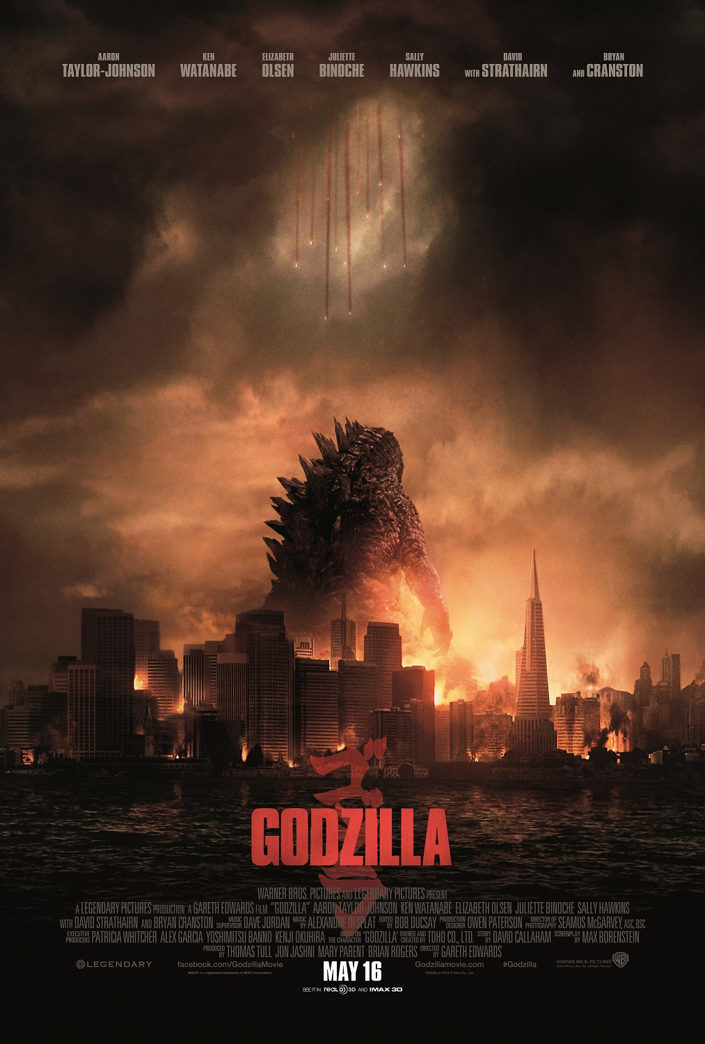 godzilla new poster New Trailer for Godzilla Unleashes the Beast