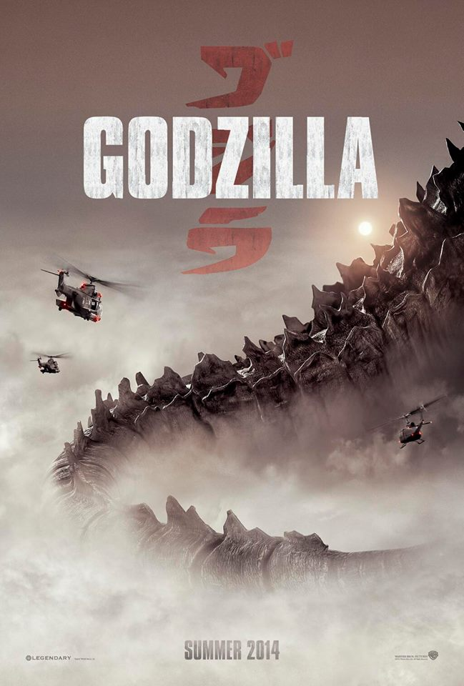 godzilla sdcc poster Badass New Godzilla Poster Hits The Web