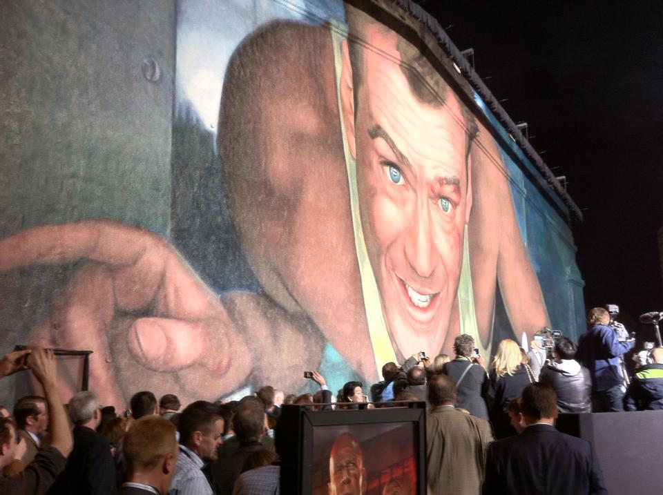 good day to die hard mural A Good Mural to DIE HARD