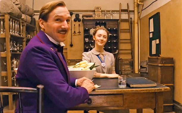 grand budapest hotel The Grand Budapest Hotel Movie Review