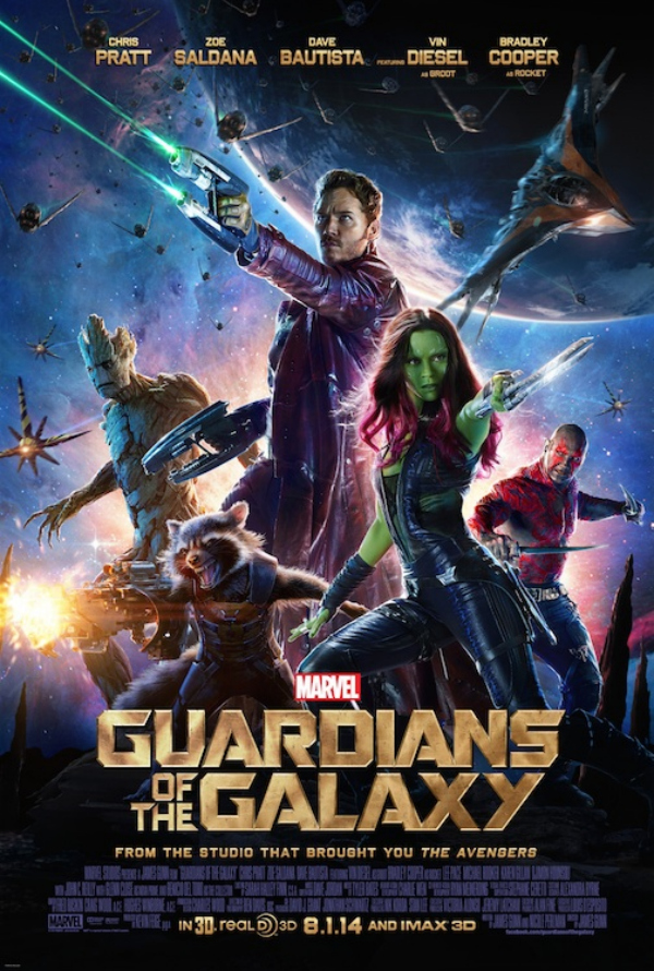 guardians of the galaxy movie poster.jpg Guardians of the Galaxy Gets A New Movie Poster