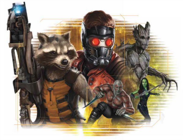 guardians of the galaxy promotional art 01 Guardians Of The Galaxy Gets New Promotional Art From Marvel Studios