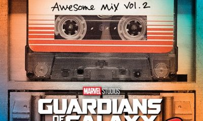 GotG2 Soundtrack Cover
