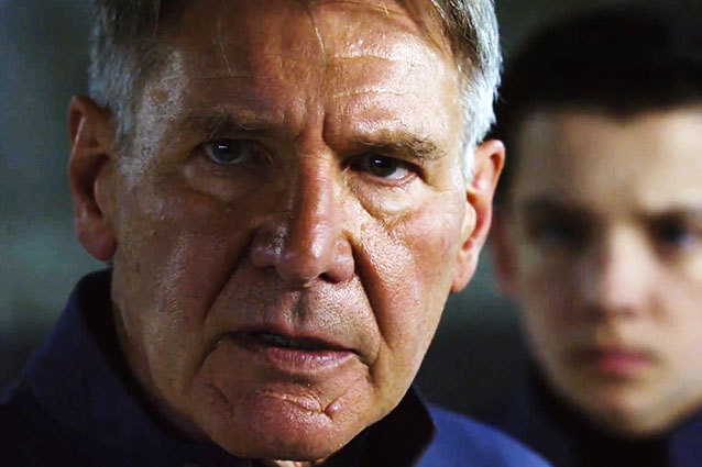 harrison ford enders game Harrison Ford Back on Star Wars: Episode VII Set After Injury, Filming Resumes