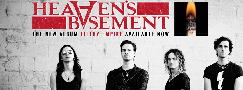 heavens basement Watch The Debut Music Video From UK Rock Band Heavens Basement