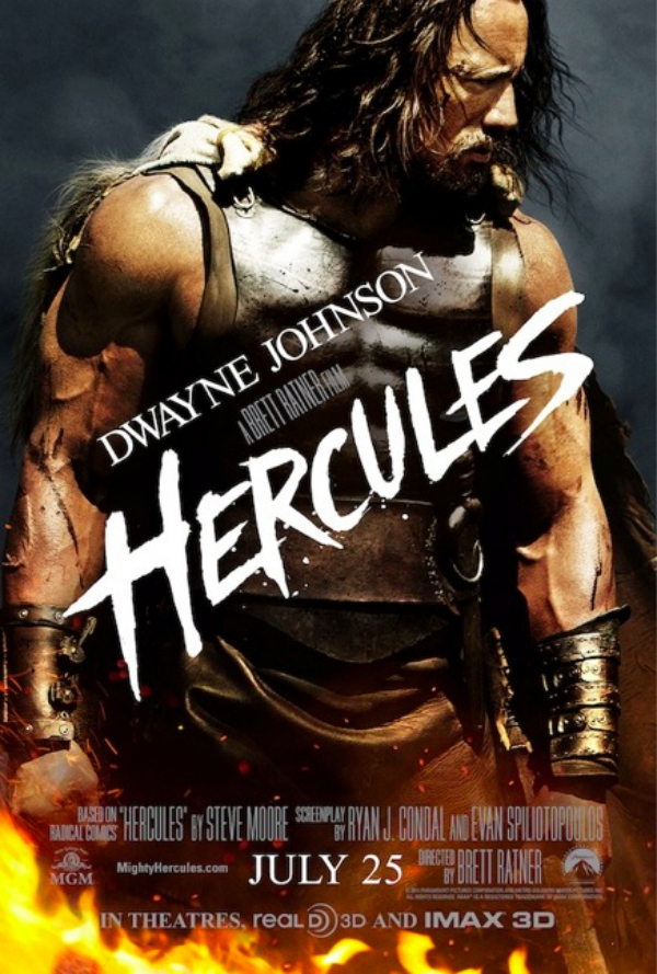 hercules one sheet Dwayne Johnson Takes Hercules to Next Level in New Television Spot