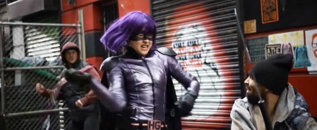 Hit girl kick ass are