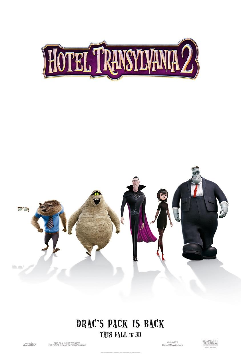 Teaser Poster for Hotel Transylvania 2 Released