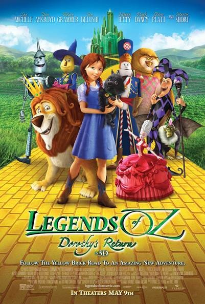 Legends of Oz: Dorothy's Return Movie Review