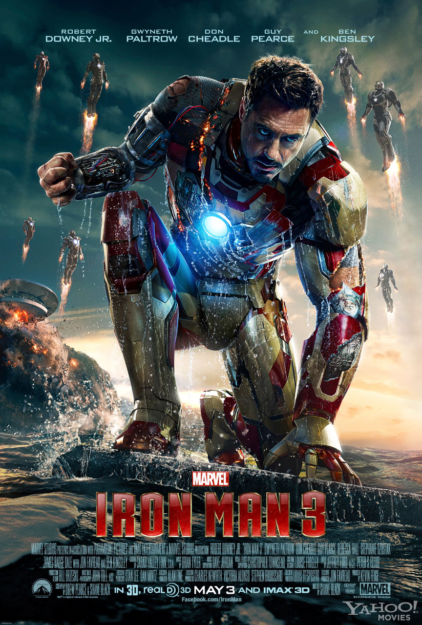 iron man 3 new poster New Iron Man 3 Poster Shows Multiple Iron Man Suits