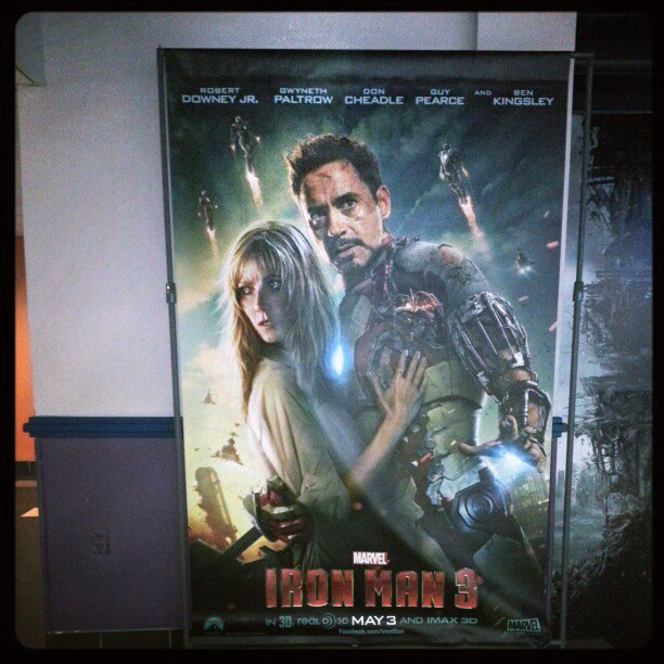 iron man 3 theatrical poster Two New Posters for Iron Man 3 Hit The Web