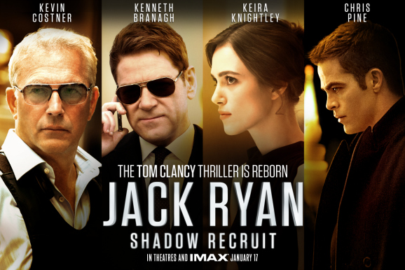 jack ryan shadow recruit characters poster imax Jack Ryan: Shadow Recruit Gets A New Clip