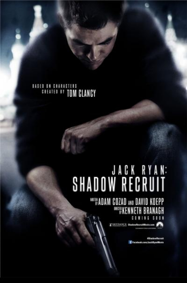jack ryan shadow recruit chris pine jack ryan Jack Ryan: Shadow Recruit Gets A New Character Poster