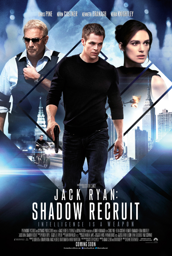 jack ryan shadow recruit uk poster Jack Ryan: Shadow Recruit Gets A New UK Teaser Poster