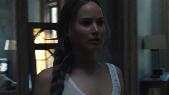 'mother!' Trailer: Jennifer Lawrence's New Darren Aronofsky Movie Looks Creepy AF
