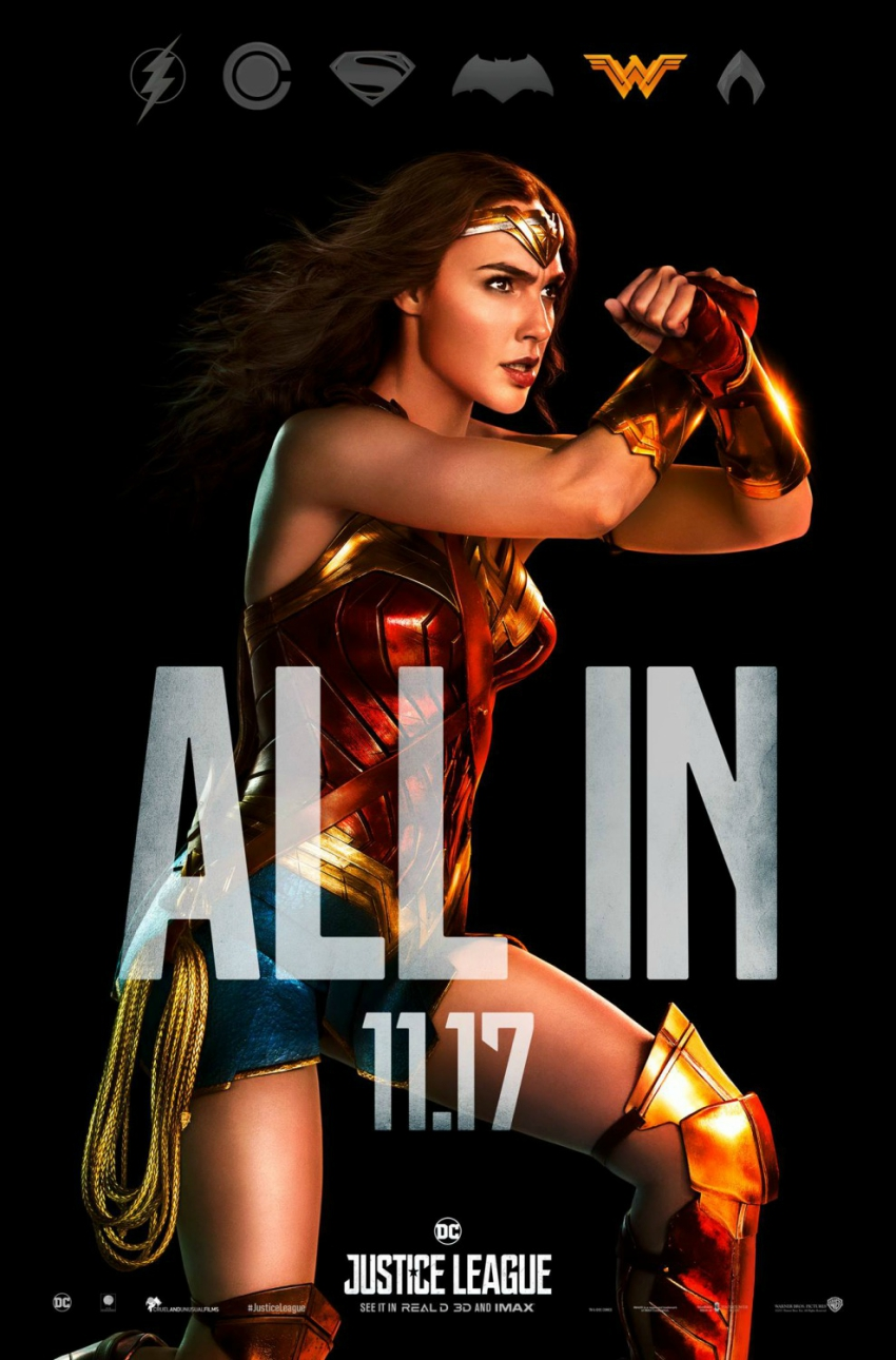 Justice League - Action Posters - Wonder Woman