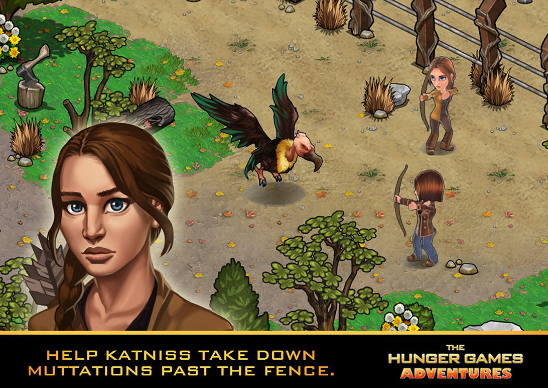 katniss The Hunger Games Adventures The Hunger Games Adventures Updated For The iPhone