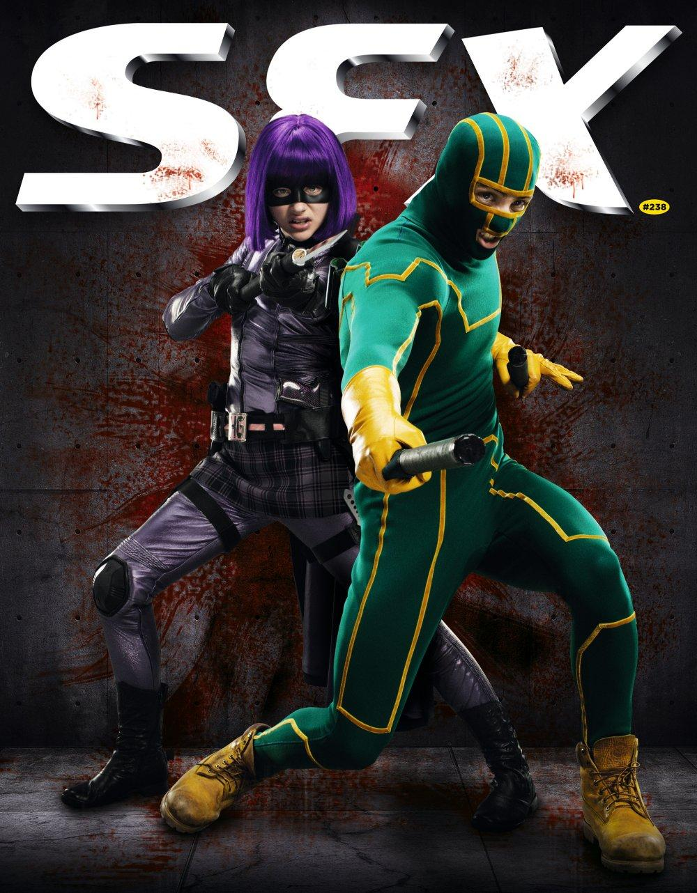 kick-ass 2 promo photo sfx