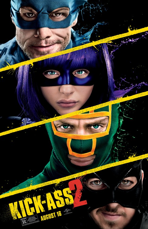 kick-ass 2 quad poster