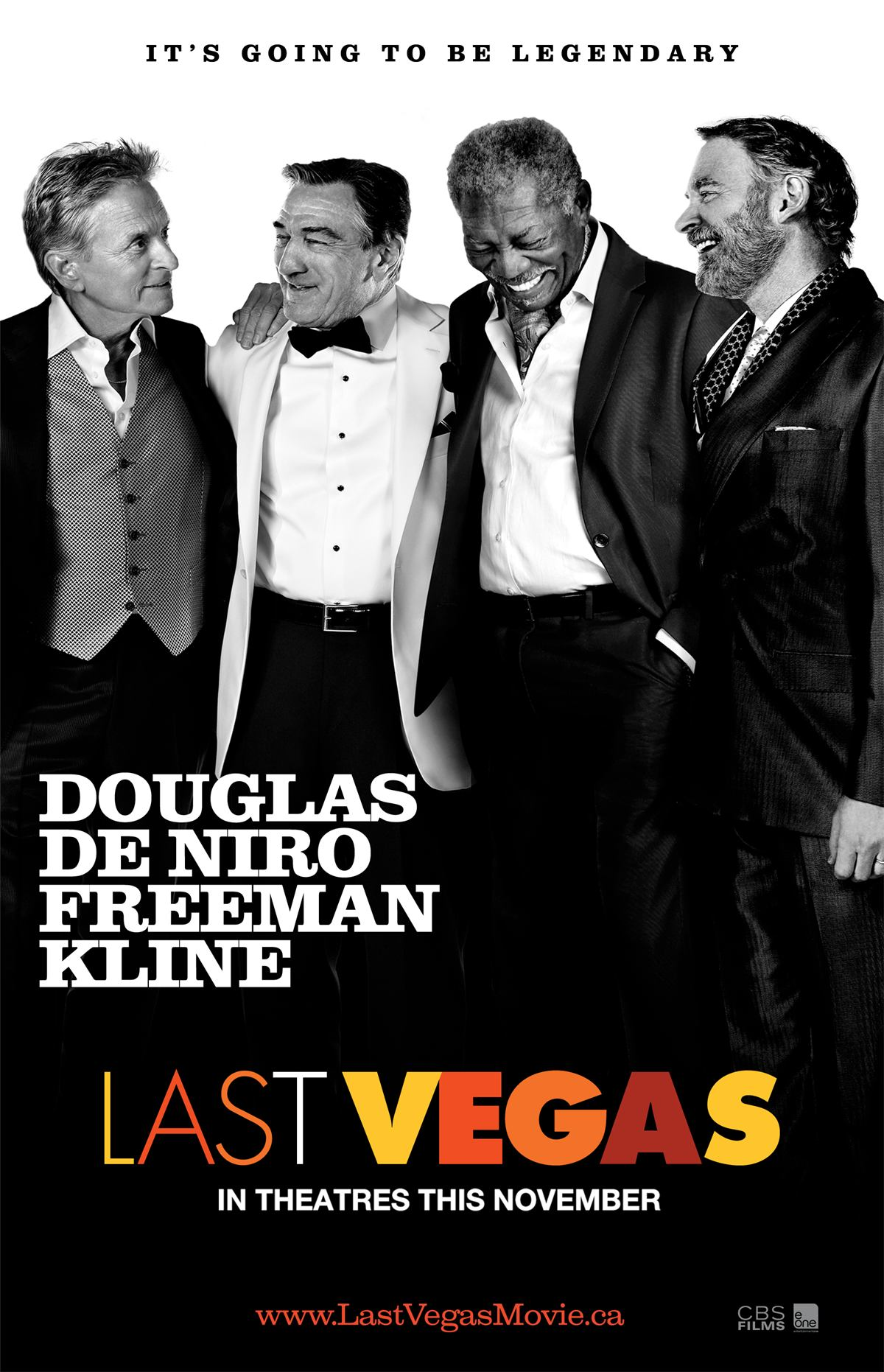 last vegas poster 2 Last Vegas Movie Review