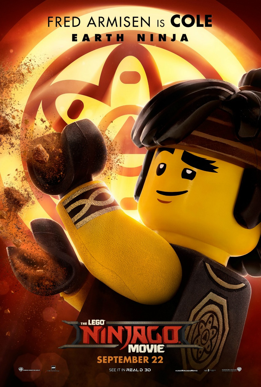 The LEGO Ninjago Movie Gets New Character Movie Posters