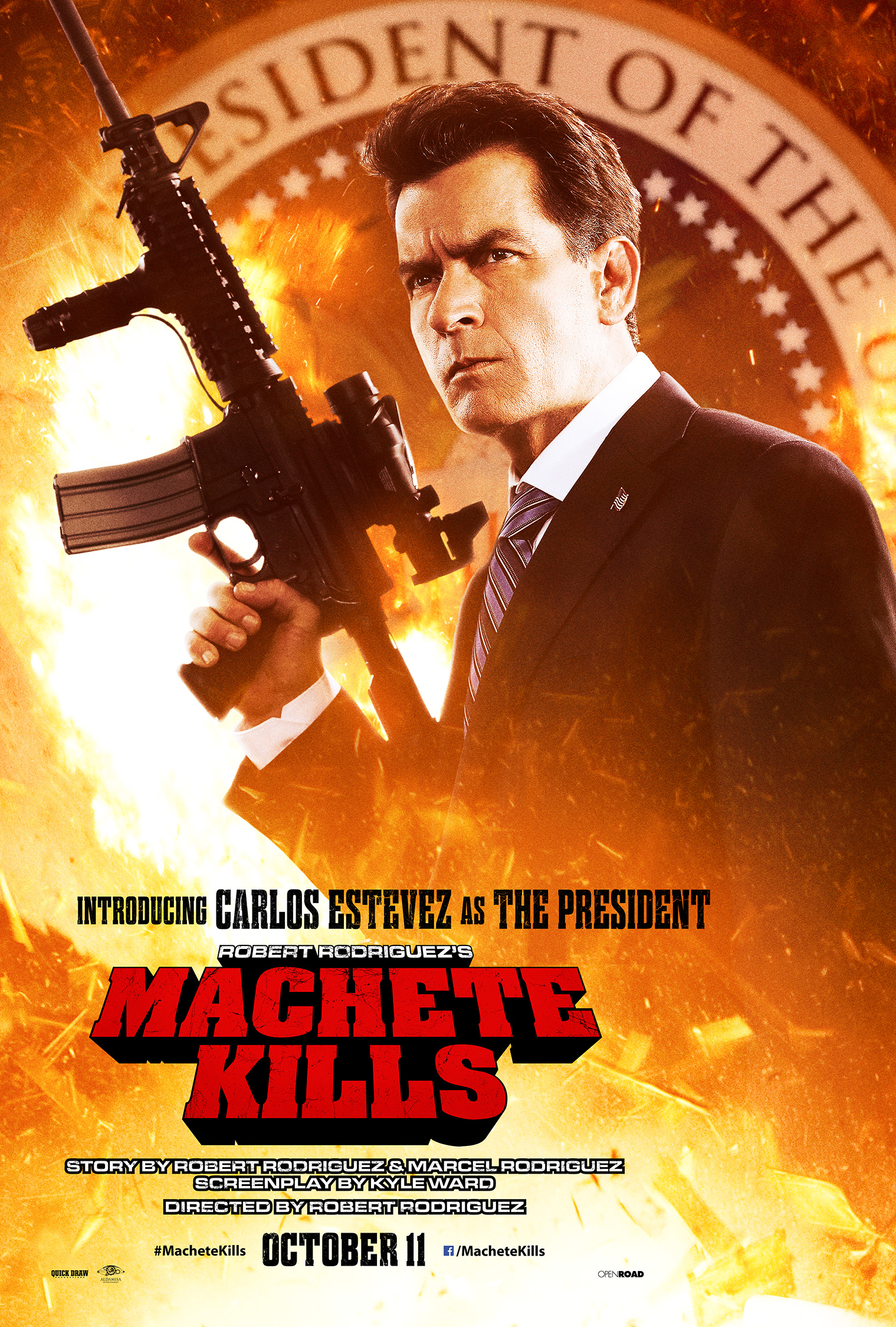 machete kills MC2 CHARLIE Final v027 oct11 rgb Machete Kills His Co Stars In New Official Posters and Stills
