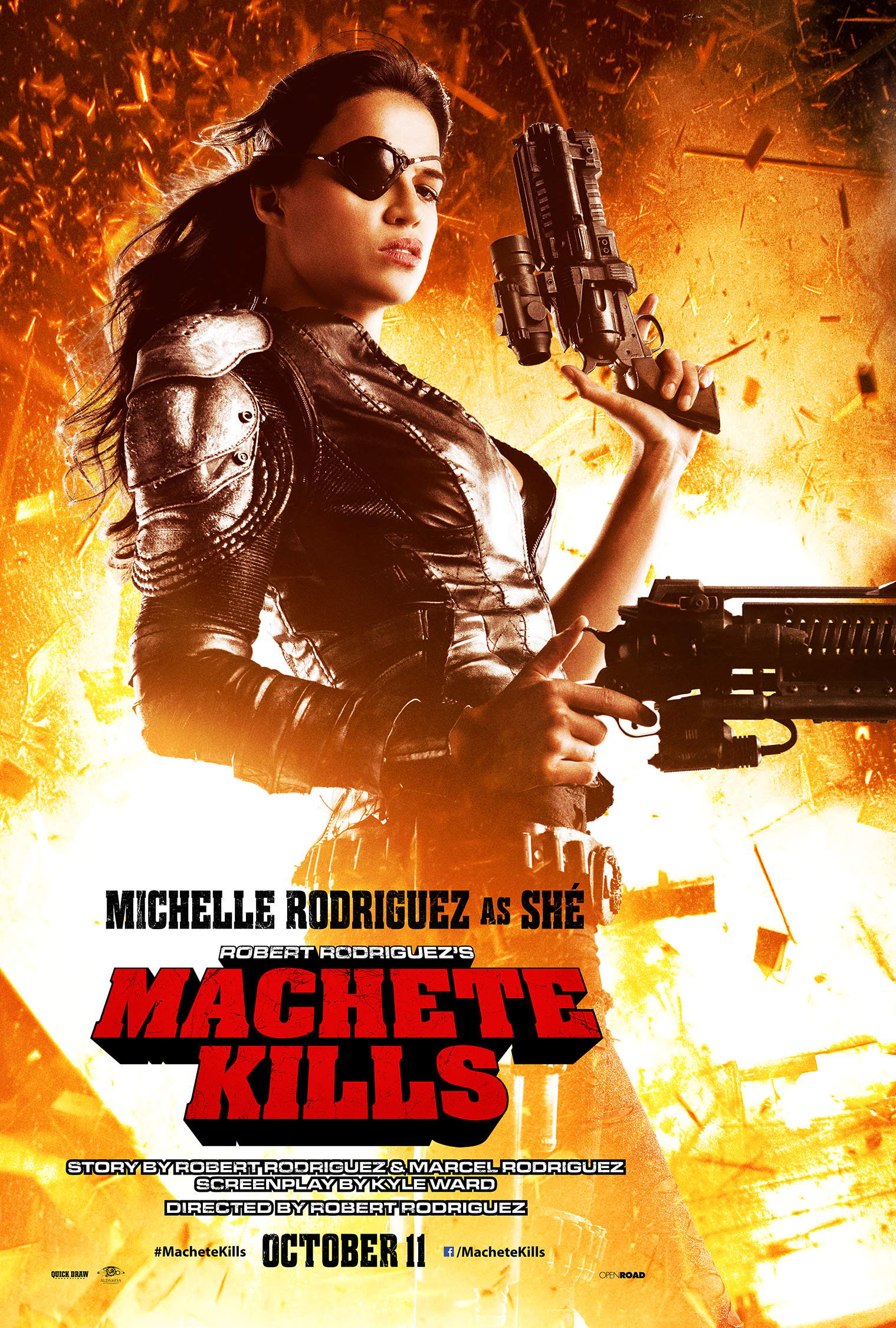machete kills MC2 MICHELLE Final v017 oct11 rgb Machete Kills His Co Stars In New Official Posters and Stills