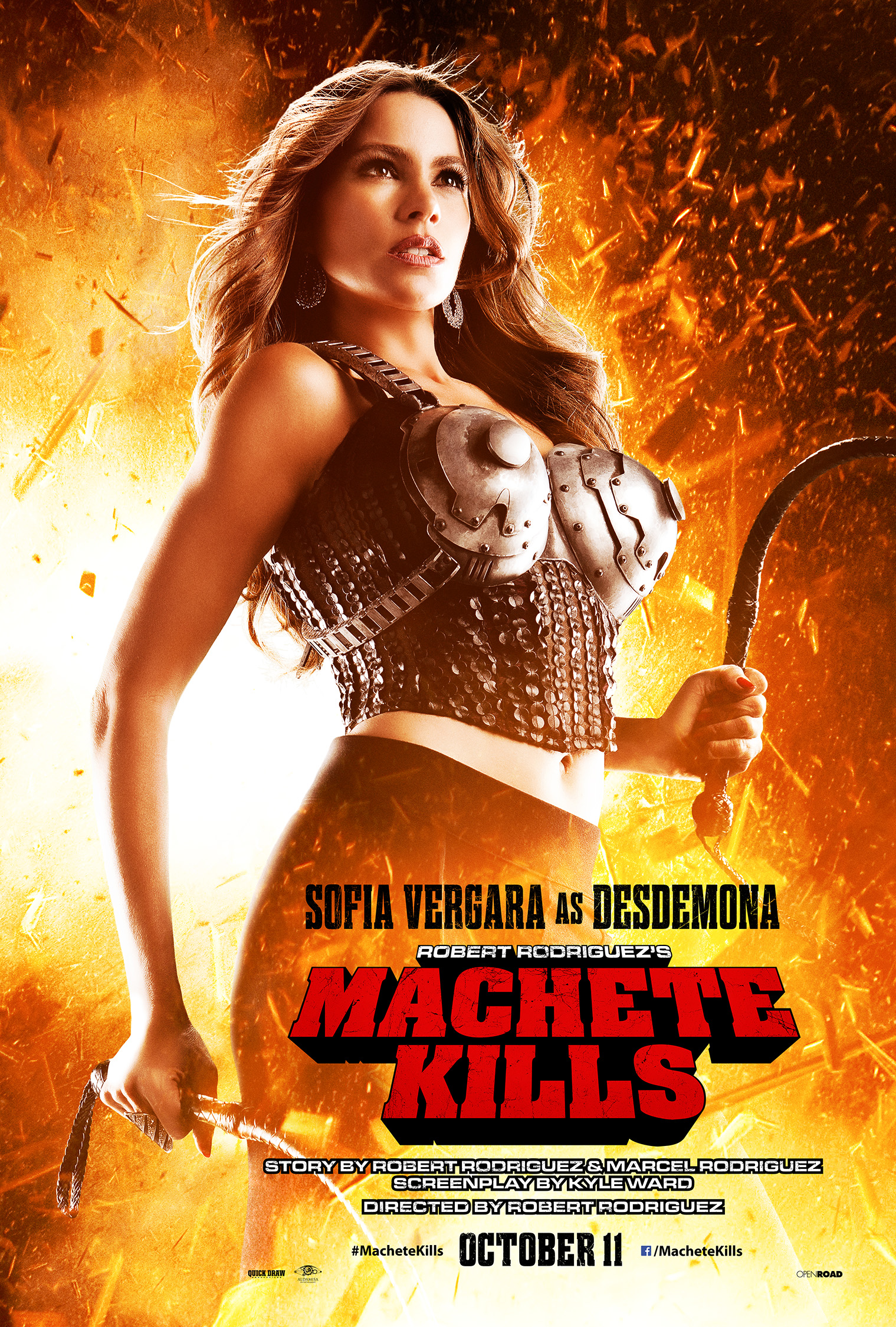 Sofia Vergara Machete Kills Poster