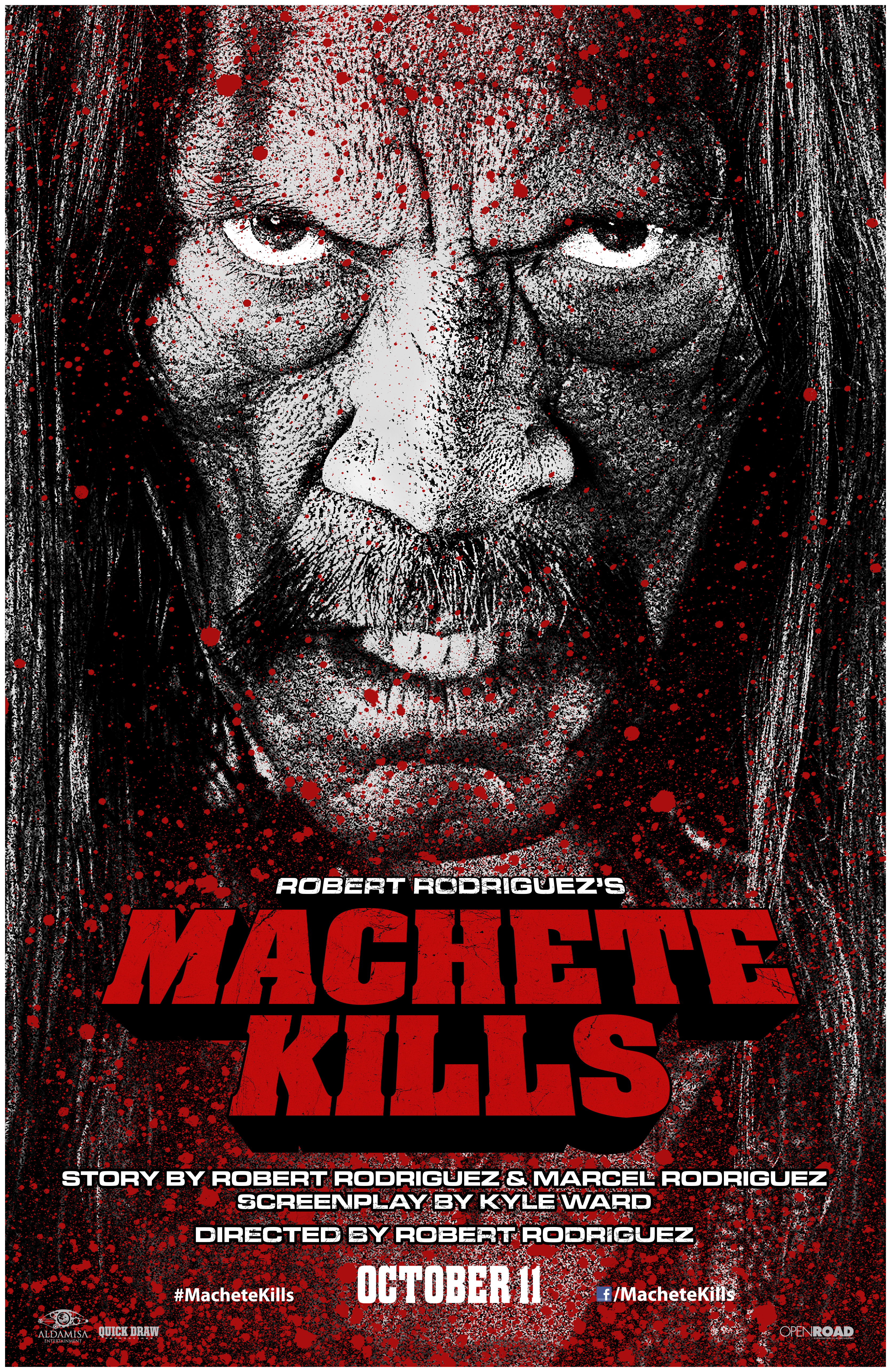 machete kills Trejo Face Teaser OCT11 rgb Machete Kills His Co Stars In New Official Posters and Stills