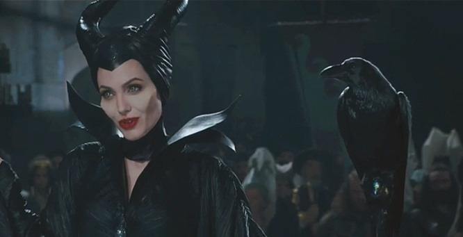 maleficent angelina1 Interview: Angelina Jolie Talks Maleficent