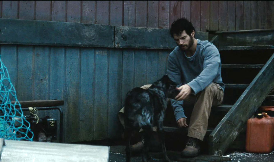 man of steel dog New Superman: Man of Steel Set Photos and Stills